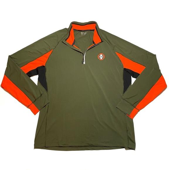 Polo Sport Ralph Lauren Performance Half-Zip Athletic Thermovent Shirt L XL NWT